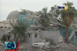 Masjid Yang Diserang Rudal Israel