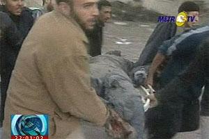 salah seorang korban rudal israel