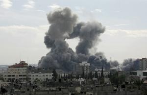 asap-serangan-israel-ke-gaza