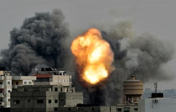 1-Sejak-sepekan-serangan Israel-ratusan-warga-sipil-Palestina-meninggal-dunia