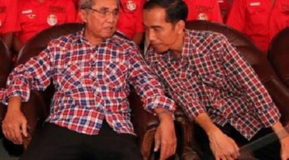 Jokowi dan Sabam Sirait Tokoh Kristen Militan PDIP