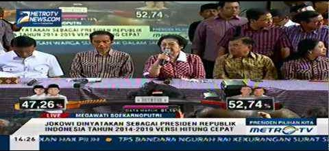 Deklarasi Sepihak Kemenangan Jokowi