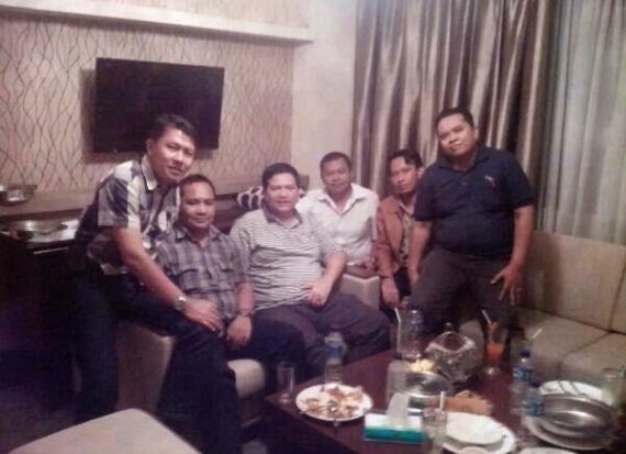 Pertemuan Ketua KPU dan timses Jokowi